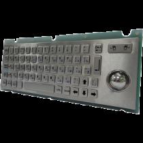 Антивандальная металлическая клавиатура SZZT ZT599L