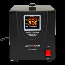 Стабилизатор напряжения однофазный релейный LPT-2500RD BLACK (1750W)
