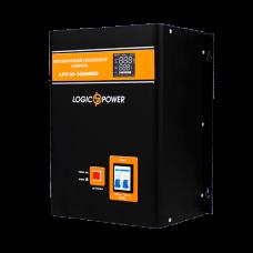 Стабилизатор напряжения однофазный релейный LPT-W-10000RD BLACK (7000W)