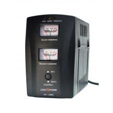 Стабилизатор напряжения однофазный релейный LPH-500RV (plastic case)