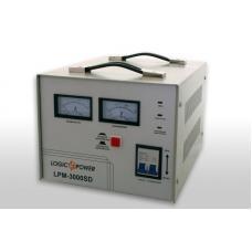 Стабилизатор напряжения однофазный сервоприводный LPM-3000SD